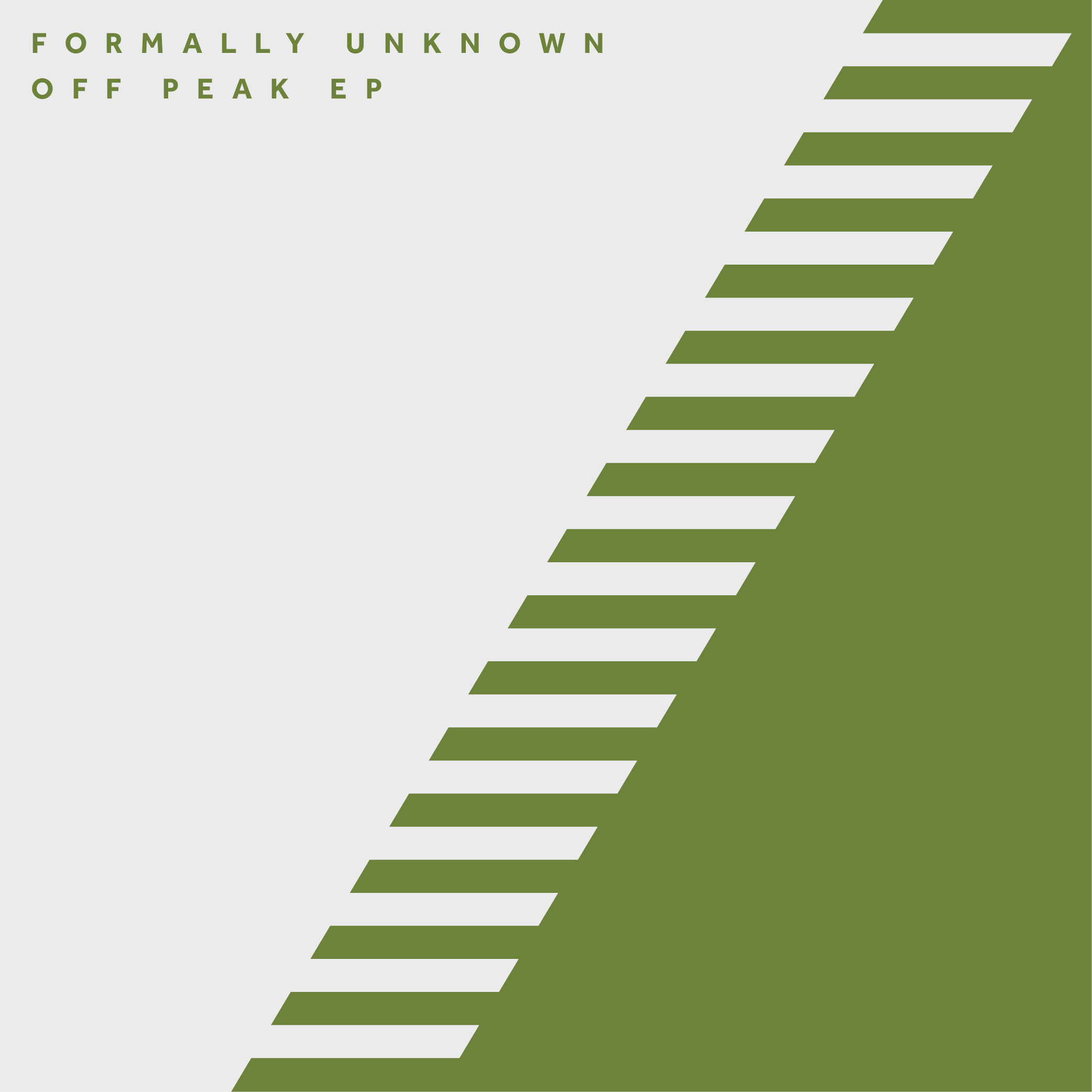 FORMALLY UNKNOWN – OFF PEAK EP